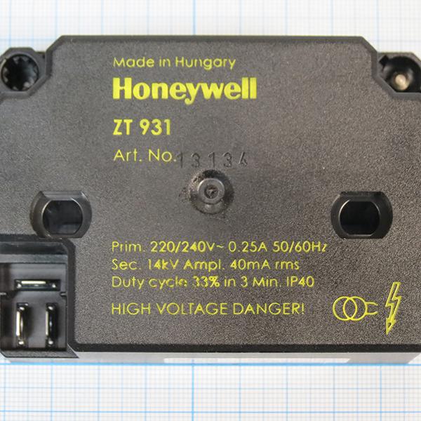 Трансформатор поджига Honeywell Satronic ZT 931 4 мм