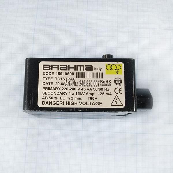 Трансформатор розжига Brahma TC1STPAF