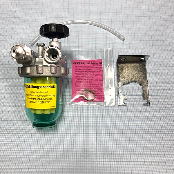 Фильтр дизельный жидкотопливный GOK Typ 500 однотрубный